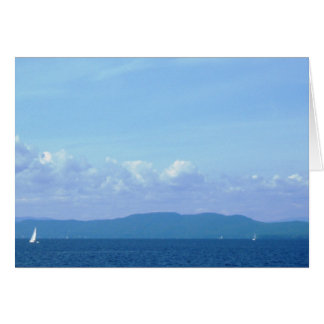 """Lake Champlain"" Card"