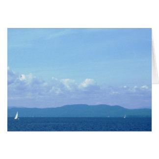 """Lake Champlain"" Card"