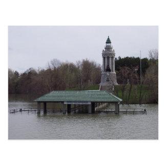 Lake Champlain Flooding Postcard