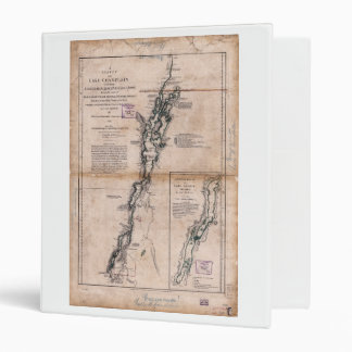 Lake Champlain Lake George Crown Point Map (1776) Binder