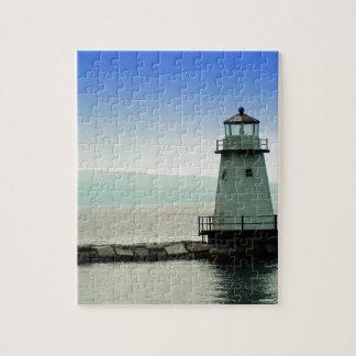 Lake Champlain Lighthouse Jigsaw Puzzle
