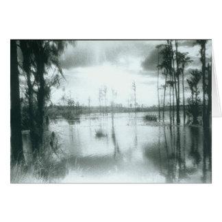 Lake Charles 2- blank card- customizable Card