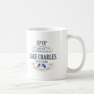 Lake Charles, Louisiana 150th Anniversary Mug