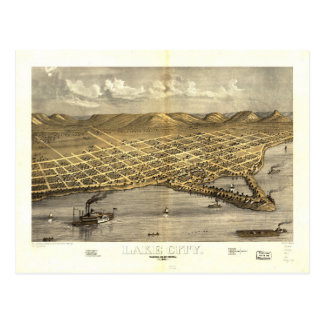 Lake City, Wabasha County, Minnesota (1867) Postcard