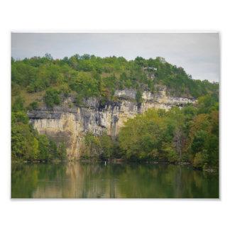 Lake Cliff Photo Print