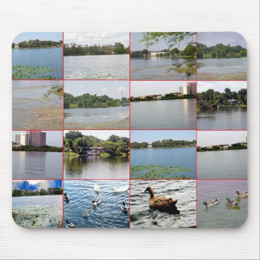 Lake Collage Mousepad