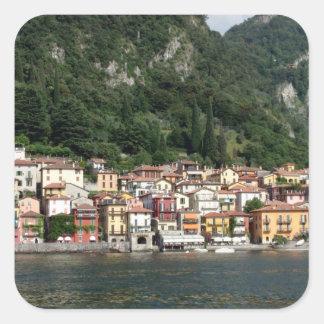 Lake Como Square Sticker