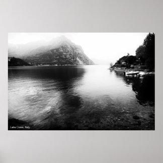 Lake Como View Poster