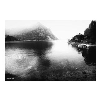 Lake Como View Print