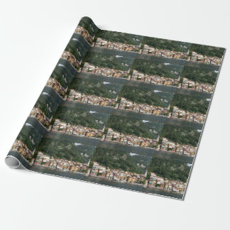 Lake Como Wrapping Paper