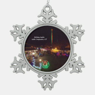 Lake Compounce Snowflake Ornament 1