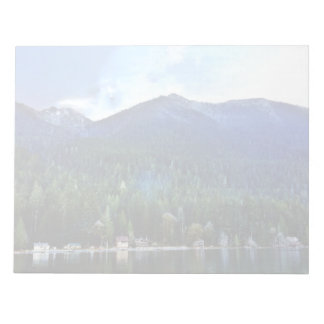 Lake Crescent Cabins Olympic National Notepad