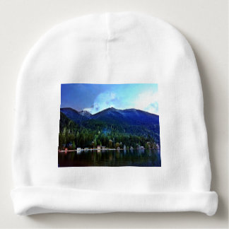 Lake Crescent Cabins Olympic National Park Baby Beanie