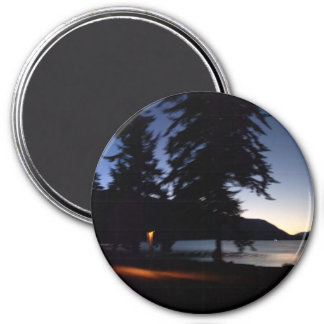 Lake Crescent Olympic National Park 3 Inch Round Magnet