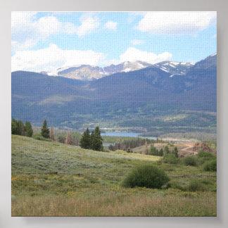 Lake Dillon Poster