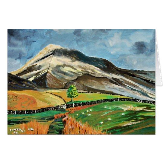 Lake District Hills Card