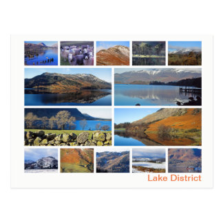 Lake District multi-image Postcard