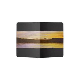 Lake District Sunset Painting Passport Holder