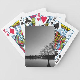 Lake Downtown Bicycle Playing Cards