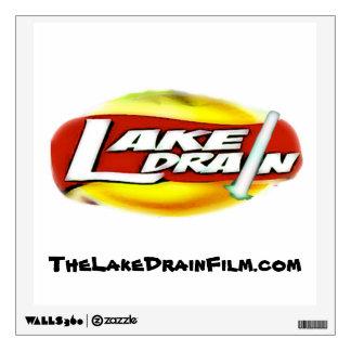 Lake Drain♨️ Saber Sun Logo Large Wall Decal