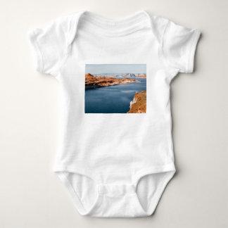 lake edge of glory baby bodysuit