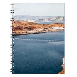lake edge of glory notebook