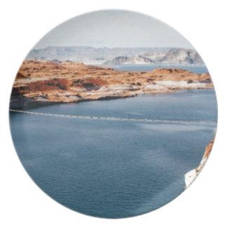 lake edge of glory plate