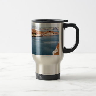 lake edge of glory travel mug