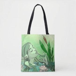 Lake Elf tote bag