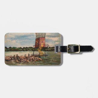 Lake Erie Causeway, Sandusky, Ohio Luggage Tag