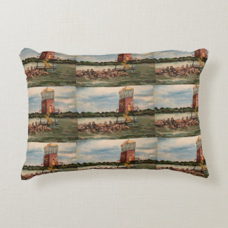 Lake Erie Causeway, Sandusky Ohio Pillow