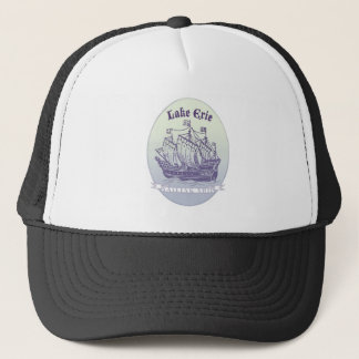 Lake Erie Sailing Ship Trucker Hat