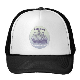 Lake Erie Sailing Ship Trucker Hat