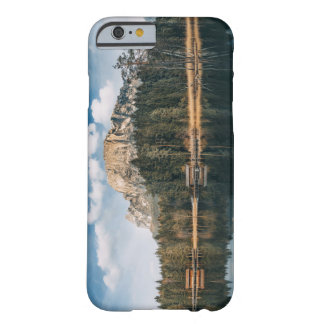 Lake Escape Cabin And Mountains Barely There iPhone 6 Case
