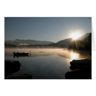 Lake Five Sunrise Card