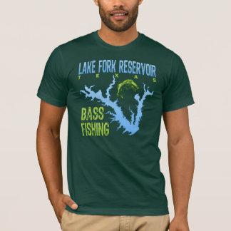 Lake Fork Reservoir, Texas Bass Fishing T-Shirt