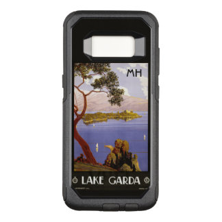 Lake Garda Italy custom monogram phone cases