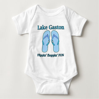 Lake Gaston Flippin Floppin Fun Shirts, Mugs, More Baby Bodysuit