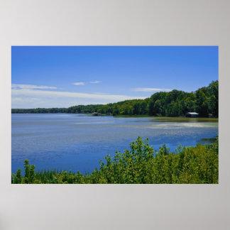 Lake Gaston, Virginia Poster