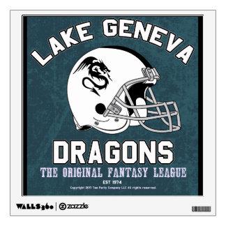 Lake Geneva Fantasy League Wall Sticker