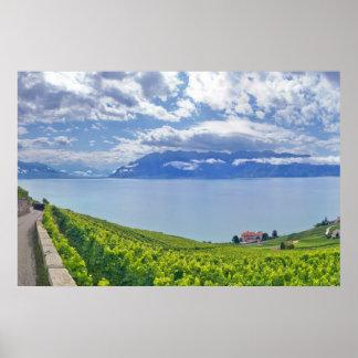 Lake Geneva (Lac Léman) 009 Poster