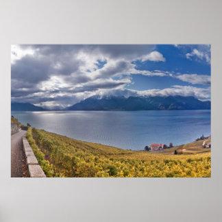 Lake Geneva (Lac Léman) 011 Poster