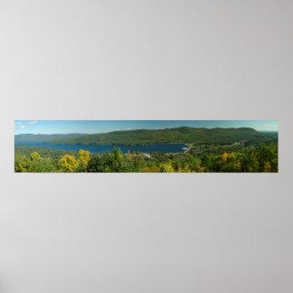 Lake George Panorama Poster