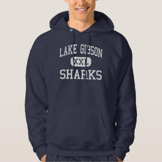 Lake Gibson Sharks Middle Lakeland Florida Hoodie