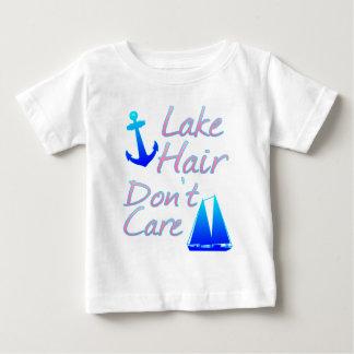 Lake Hair Don't Care Baby T-Shirt
