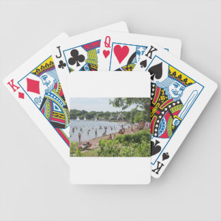 Lake Harriet Shoreline and Band Shell Poker Deck