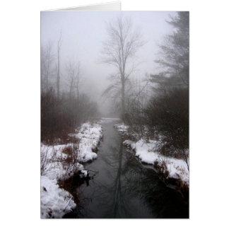 Lake Hill Winter, NY Card
