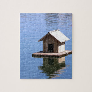Lake house jigsaw puzzle
