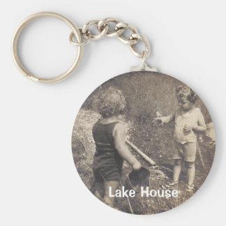 Lake House Keycahin Keychain