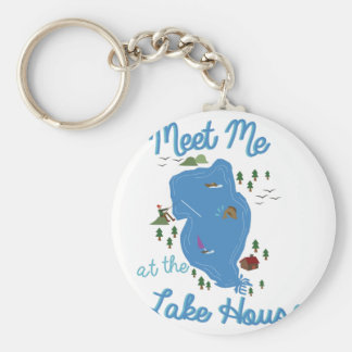 Lake House Keychain